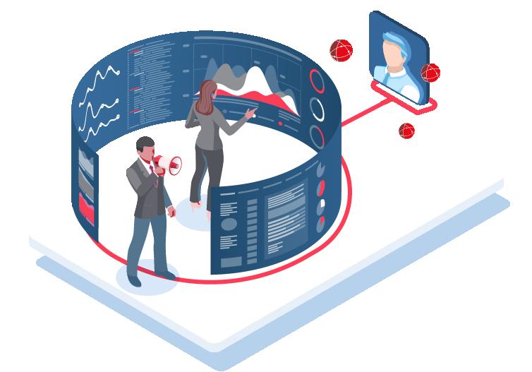 Vision à 360 avec le marketing basé sur l'utilisation des données