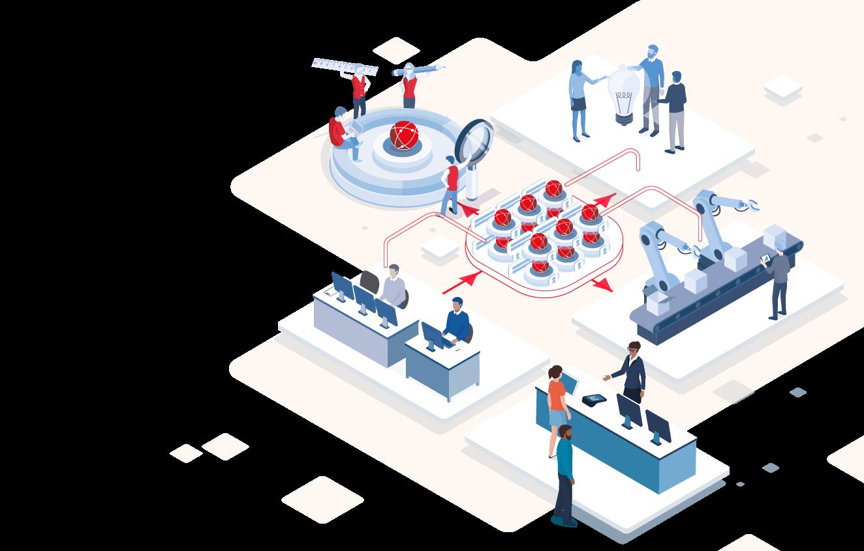 La data Gouvernance pour garantir la qualité, l'intégrité et la sécurité des données.