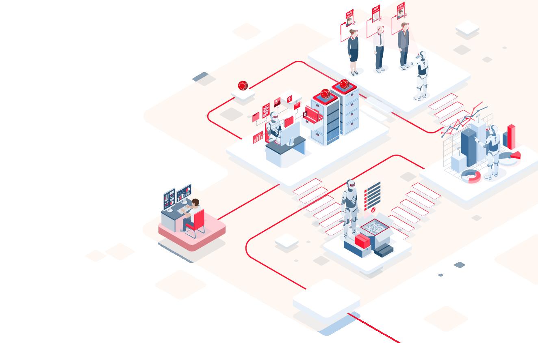 Automatisation des tâches répétitives ou Robotic Process Automation (RPA)